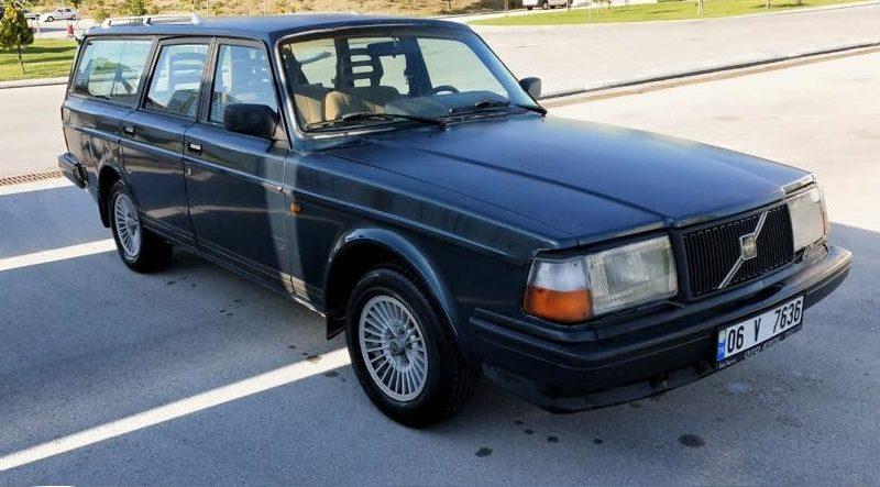 Satılık Volvo 240 GLE SW Blue Edition
